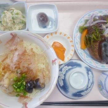 7月27日の昼食