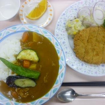 夕定食の例1
