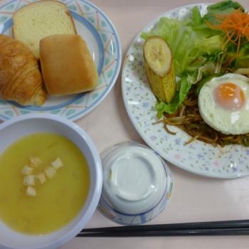 8日の朝食
