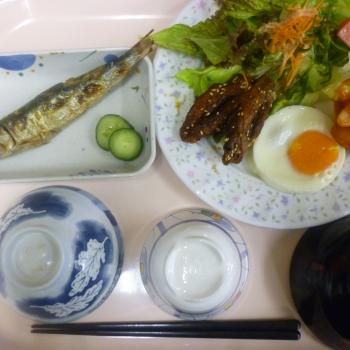 朝定食の例1