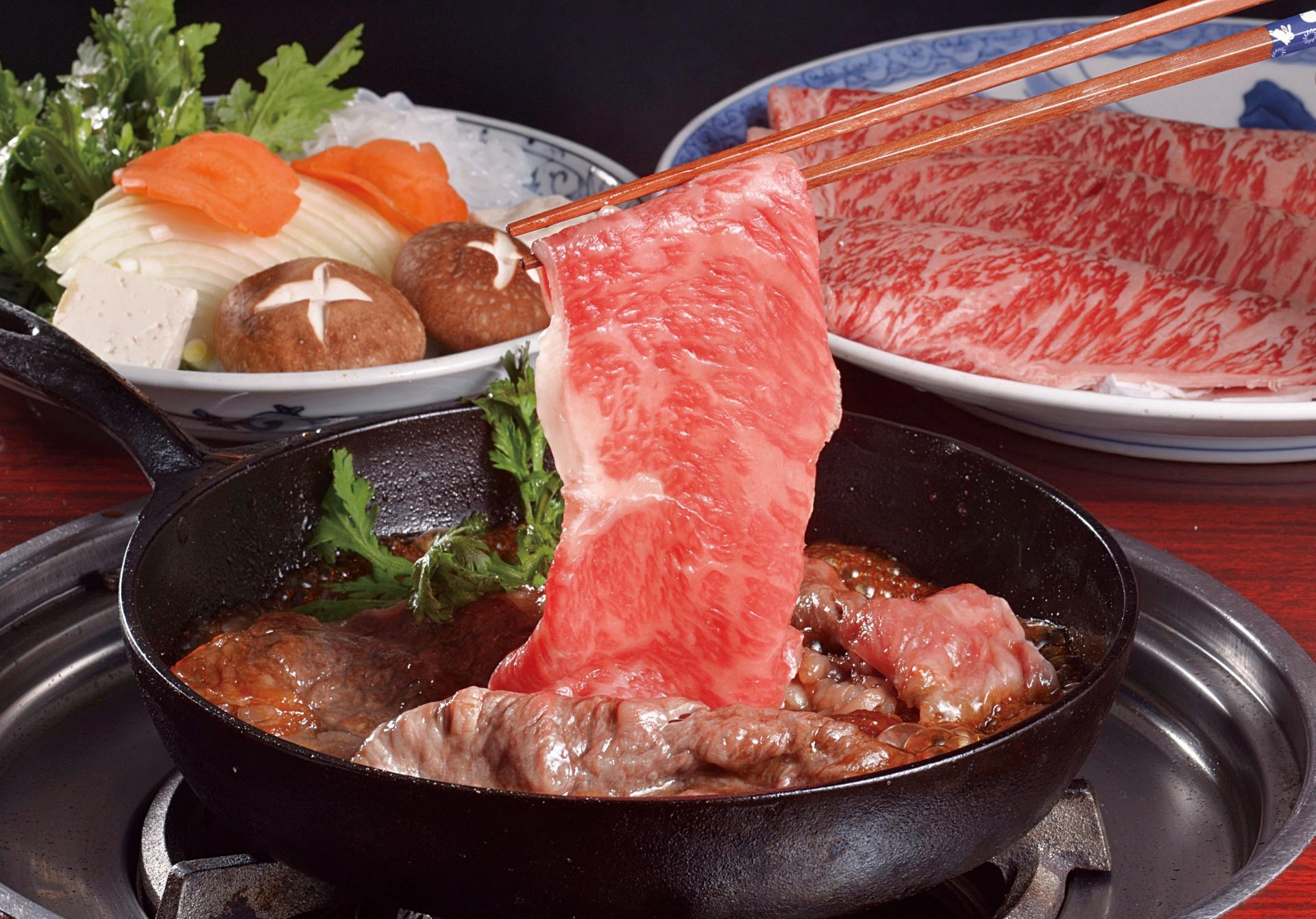 松阪肉 すき焼き